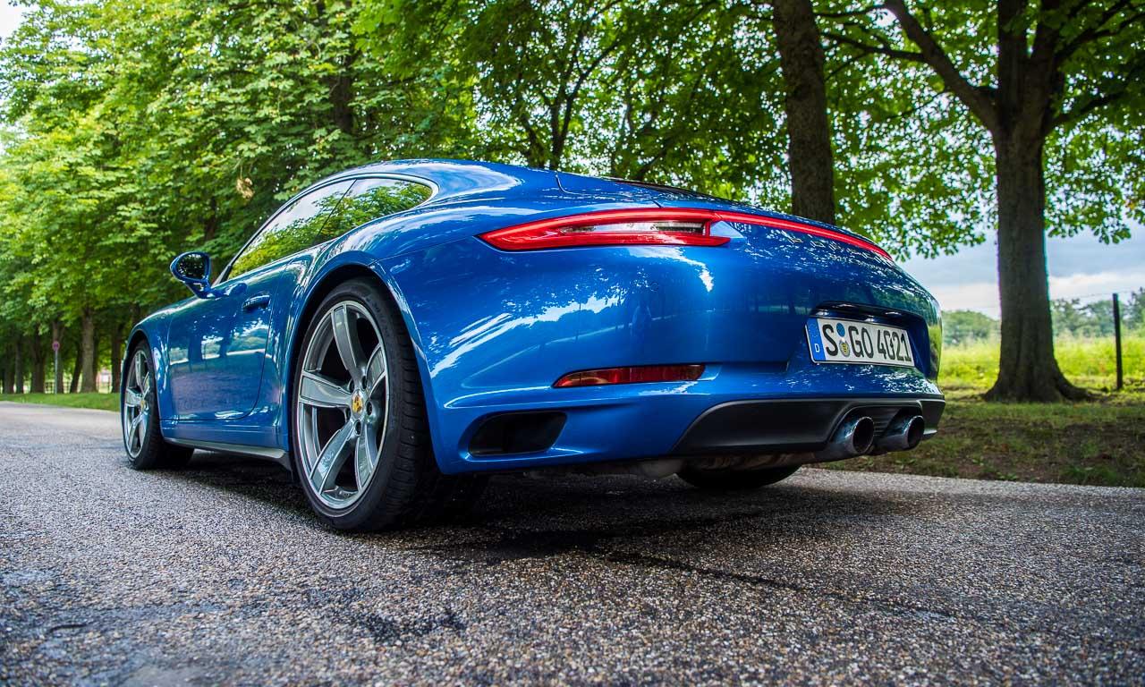 """70 Jahre Porsche Sportwagen 991.2 Carrera 4S im Fahrbericht Boxster 981 GTS 718 Boxster S AUTOmativ.de Benjamin Brodbeck 3 - Gibt es eigentlich den """"wahren"""" Porsche? - 70 Jahre Porsche Sportwagen"""