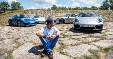 """70 Jahre Porsche Sportwagen 991.2 Carrera 4S im Fahrbericht Boxster 981 GTS 718 Boxster S AUTOmativ.de Benjamin Brodbeck 36 390x205 - Gibt es eigentlich den """"wahren"""" Porsche? - 70 Jahre Porsche Sportwagen"""