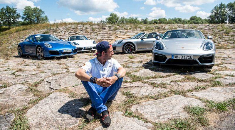 """70 Jahre Porsche Sportwagen 991.2 Carrera 4S im Fahrbericht Boxster 981 GTS 718 Boxster S AUTOmativ.de Benjamin Brodbeck 36 800x445 - Gibt es eigentlich den """"wahren"""" Porsche? - 70 Jahre Porsche Sportwagen"""