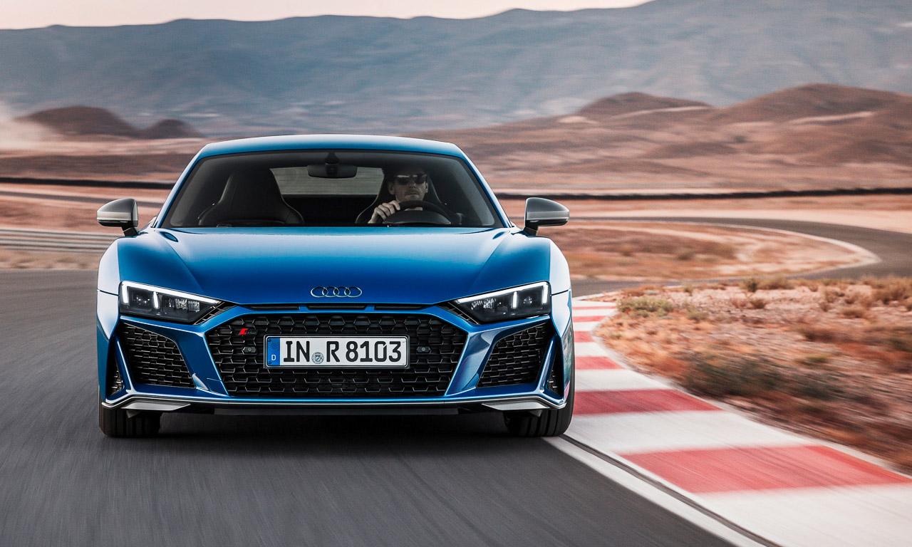 Audi R8 2019 AUTOmativ.de 5 - Mehr Lambo im aufgewerteten Audi R8 und R8 Spyder (2019)