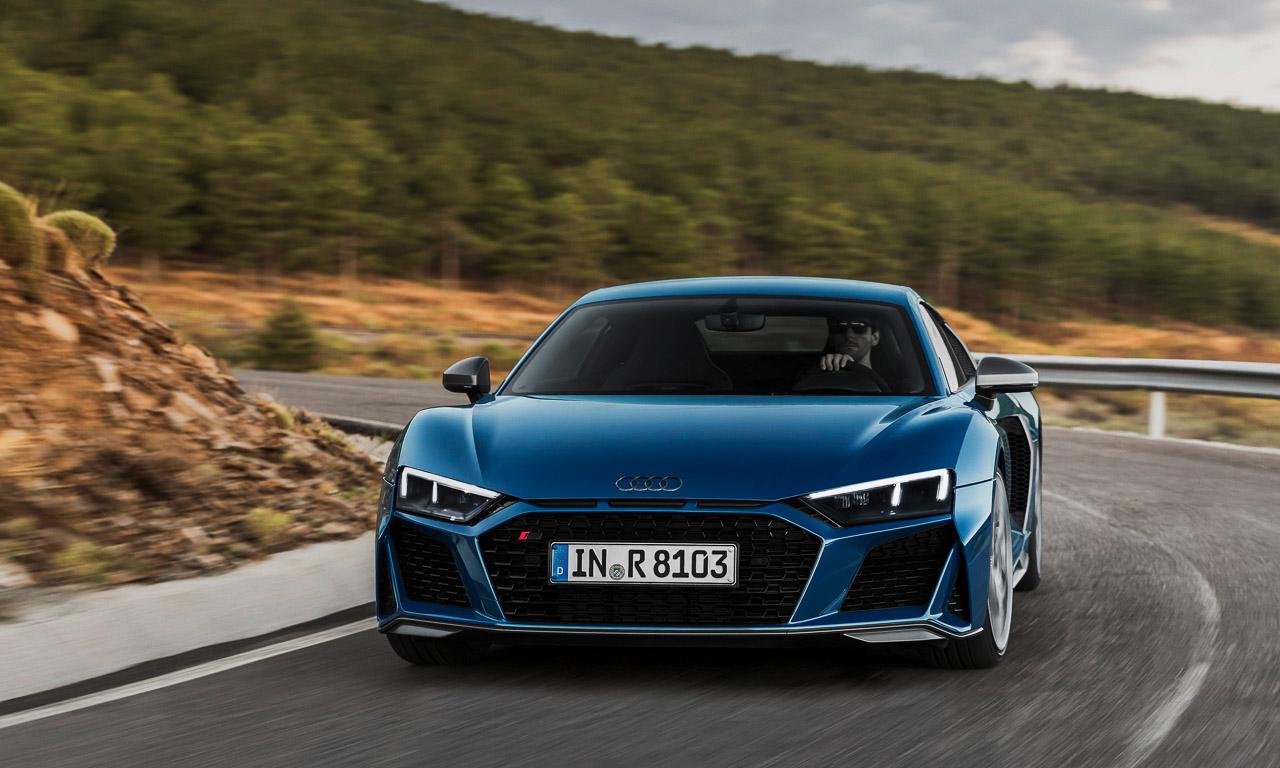 Audi R8 2019 AUTOmativ.de 6 - Mehr Lambo im aufgewerteten Audi R8 und R8 Spyder (2019)