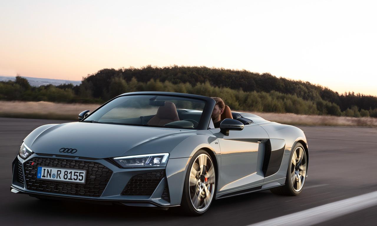 Audi R8 2019 AUTOmativ.de 7 - Mehr Lambo im aufgewerteten Audi R8 und R8 Spyder (2019)