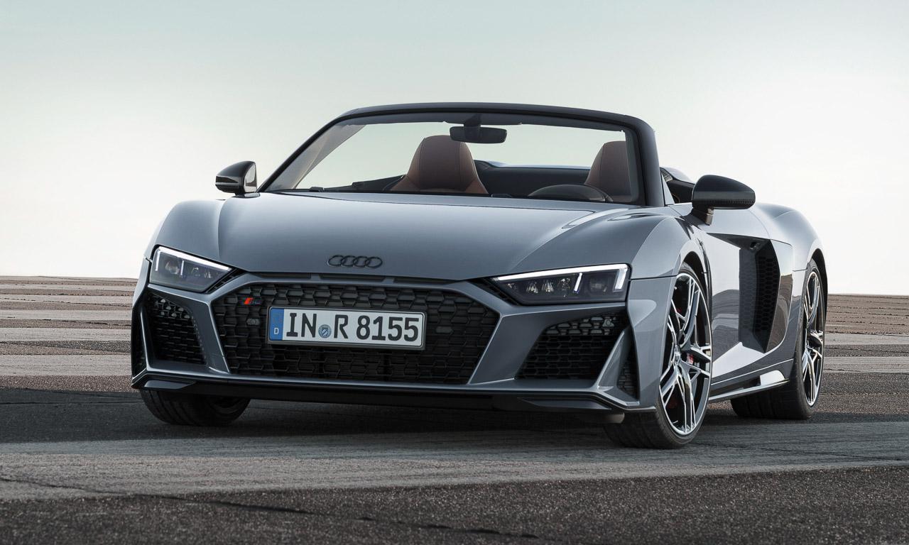 Audi R8 2019 AUTOmativ.de 9 - Mehr Lambo im aufgewerteten Audi R8 und R8 Spyder (2019)