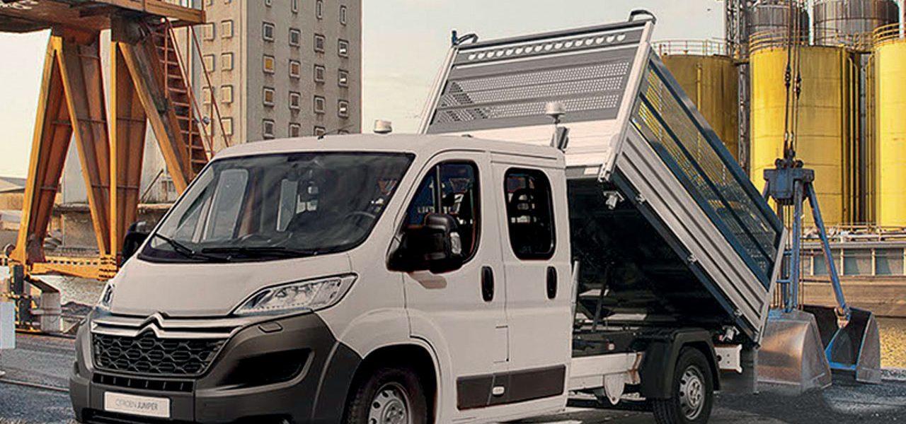 Citroën Jumper Kipper Solution und Pritsche Plus Solution ab 33.805 Euro