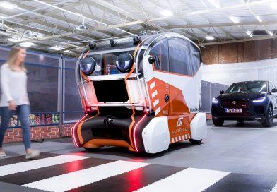 Jaguar baut autonomes Fahrzeug mit Augen – und es erinnert an einen Horrorfilm