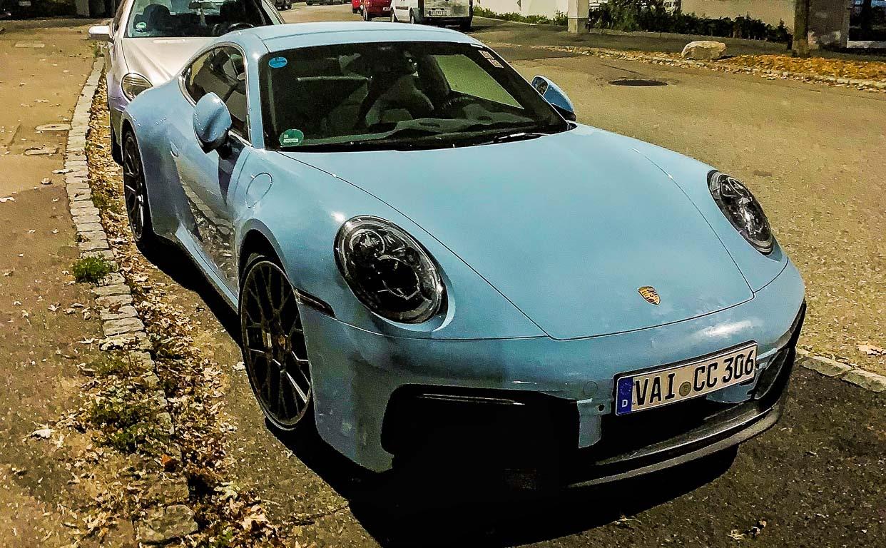 Porsche 911 Carrera 992 2019 Erlkoenig Spyshot AUTOmativ.de Benjamin Brodbeck 2 1 - Porsche 911 Carrera Generation 992 (2019): Alles über den neuen Elfer!