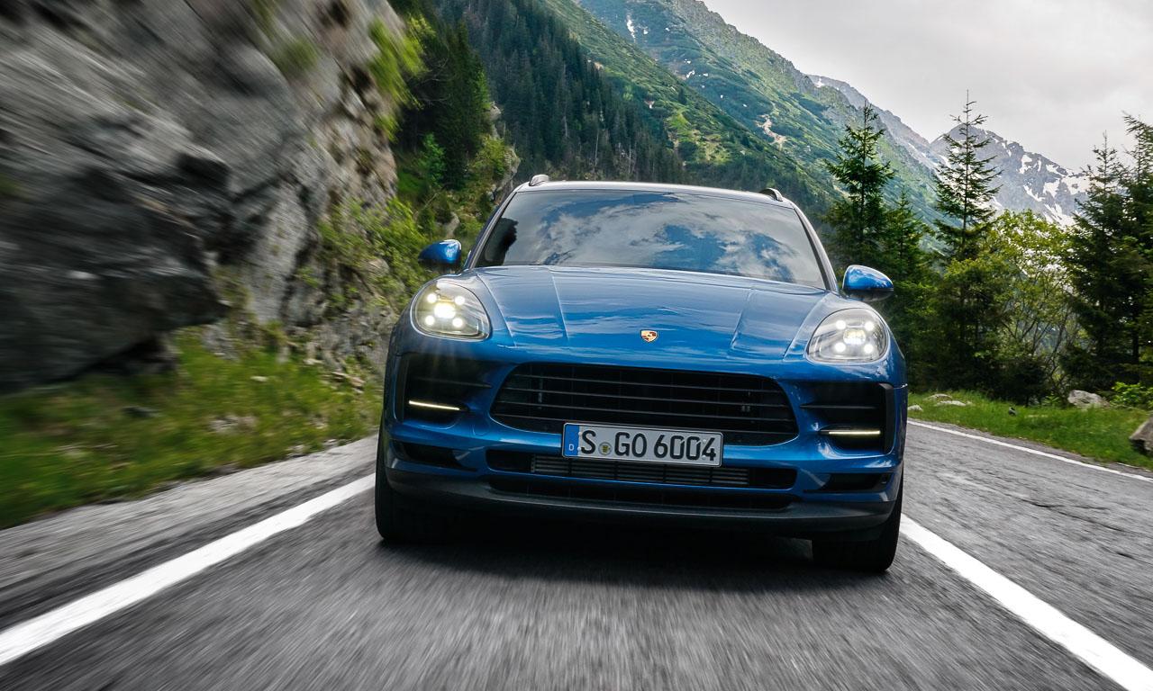 Porsche Macan 2019 Vierzylinder Neu Porsche SUV AUTOmativ.de Benjamin Brodbeck 5 - Neuer Porsche Macan als Vierzylinder hat sehr viel Spaß am Strand - jetzt bestellbar