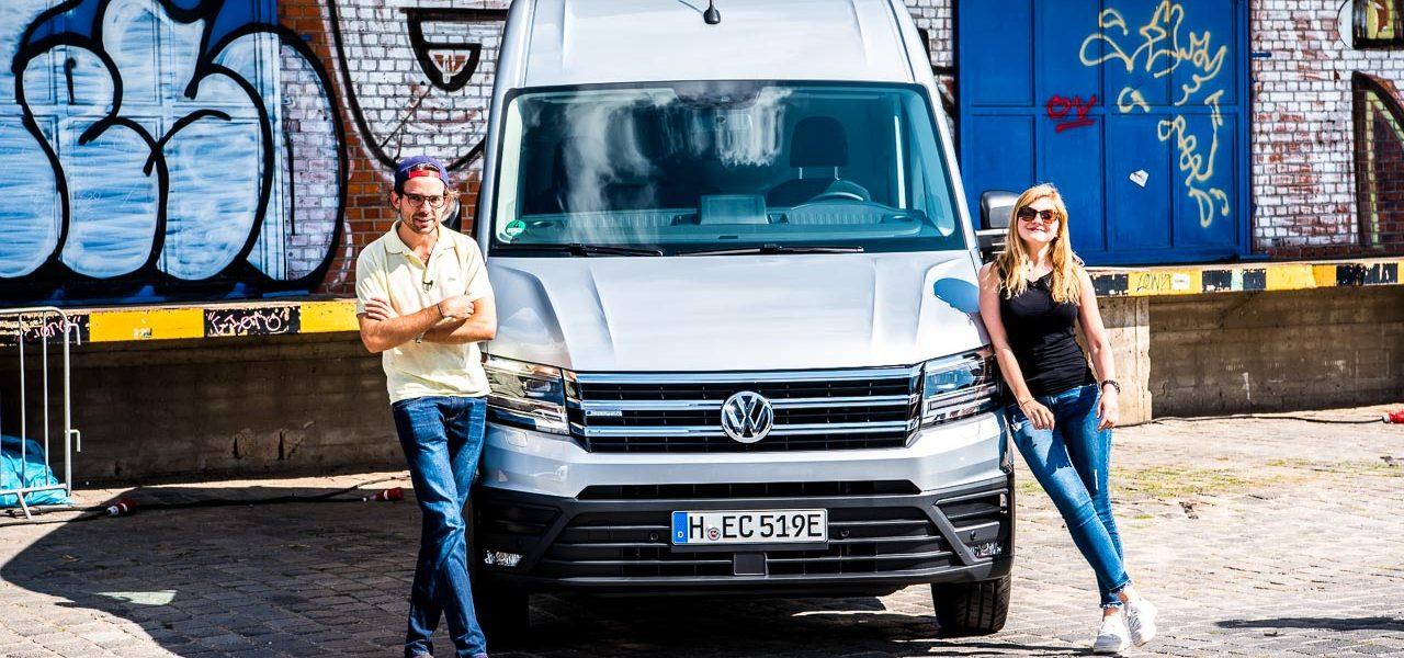 VW Volkswagen e-Crafter im Test: Nicht nur Drohnen können emissionsfrei liefern!
