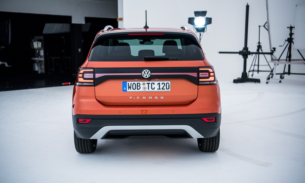 Volkswagen VW T Cross 2019 Mini SUV von Volkswagen VW T Roc AUTOmativ.de Benjamin Brodbeck 10 - VW T-Cross: Ein Polo auf Stelzen oder doch eher ein eingelaufener Tiguan?