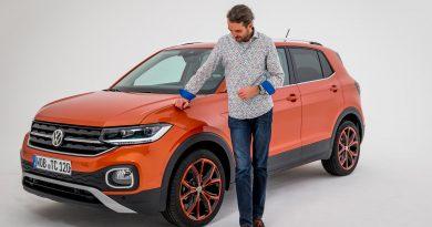 Volkswagen VW T Cross 2019 Mini SUV von Volkswagen VW T Roc AUTOmativ.de Benjamin Brodbeck Martin Meiners 21 390x205 - VW T-Cross (2019): Erste Sitzprobe des Polo-SUV