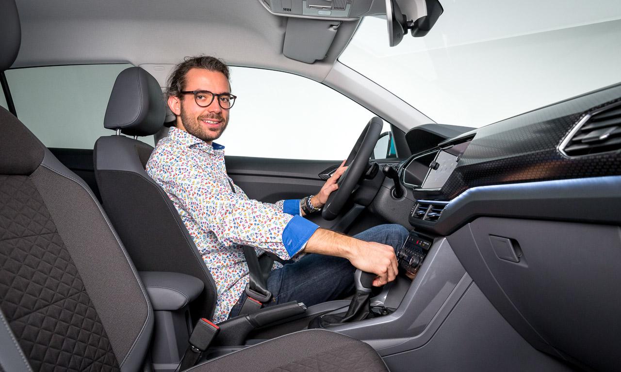 Volkswagen VW T Cross 2019 Mini SUV von Volkswagen VW T Roc AUTOmativ.de Benjamin Brodbeck Martin Meiners 23 - VW T-Cross (2019): Erste Sitzprobe des Polo-SUV