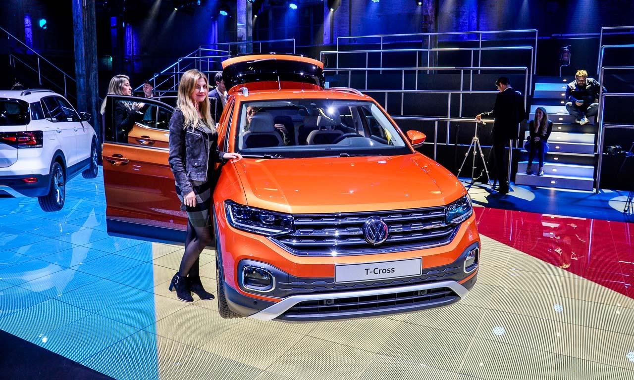 Volkswagen VW T Cross 2019 Mini SUV von Volkswagen VW T Roc AUTOmativ.de Ilona Farsky 3 - VW T-Cross: Ein Polo auf Stelzen oder doch eher ein eingelaufener Tiguan?