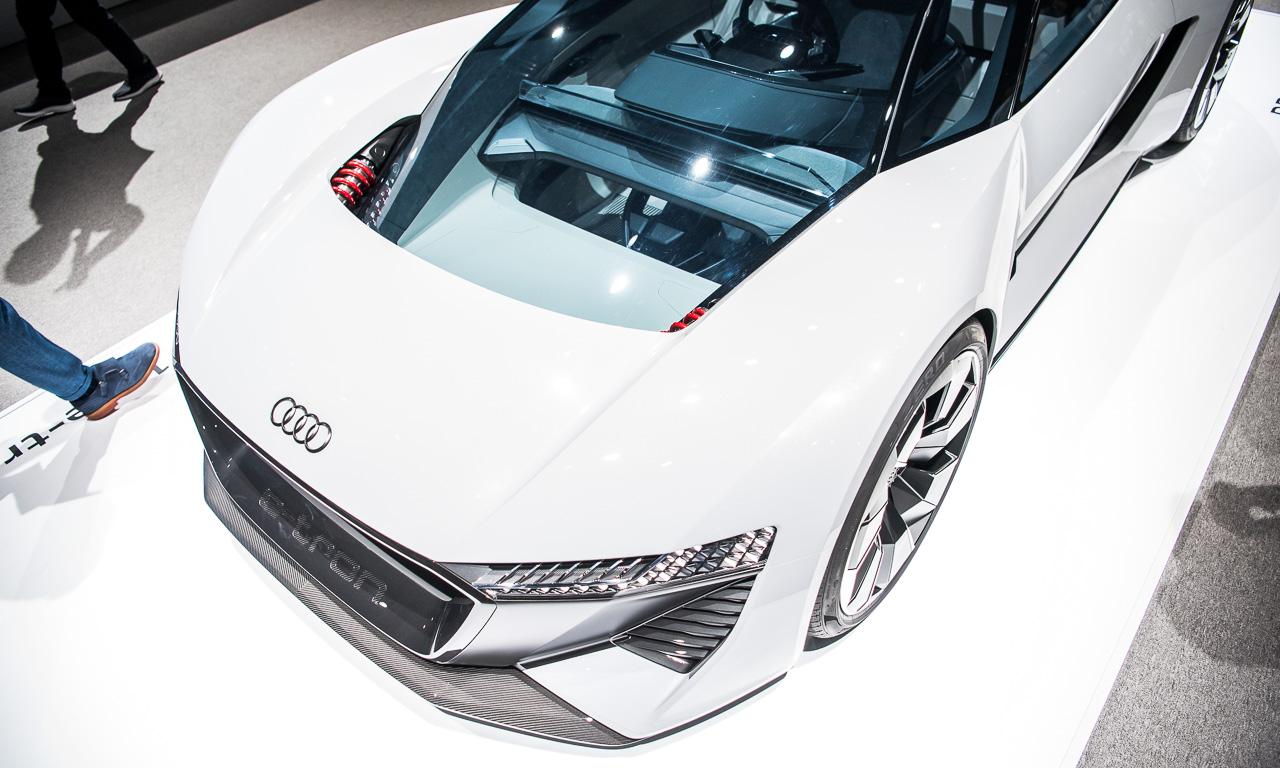 Audi PB18 e tron 5 - Mit dem Audi PB18 e-tron auf Tuchfühlung: Wenn schon Elektroauto, dann bitte so!