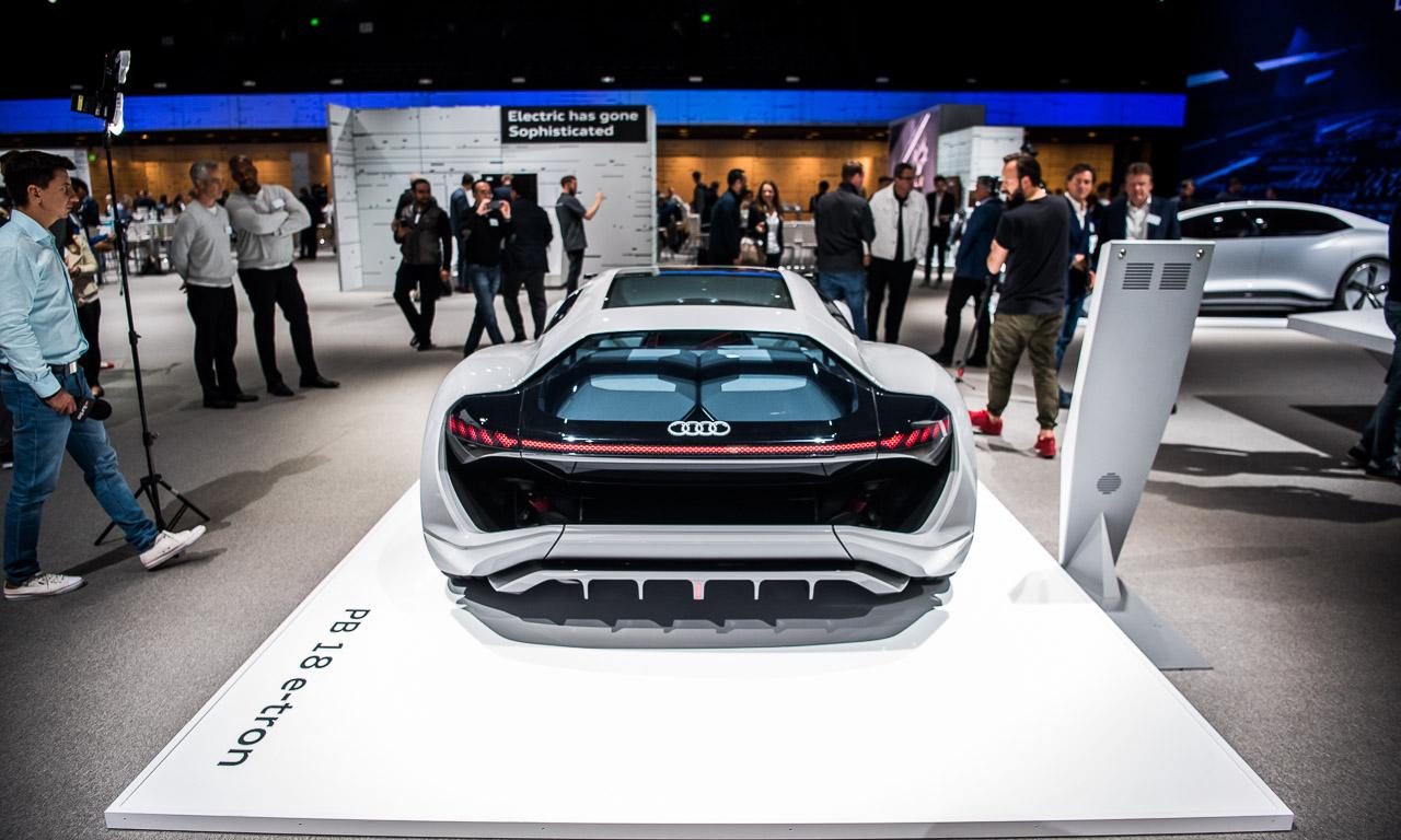 Audi PB18 e tron - Mit dem Audi PB18 e-tron auf Tuchfühlung: Wenn schon Elektroauto, dann bitte so!