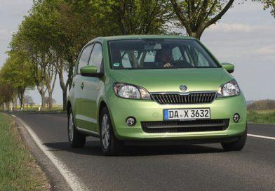 Škoda Citigo G-Tec mit umweltfreundlichem CNG-Antrieb ab sofort bestellbar