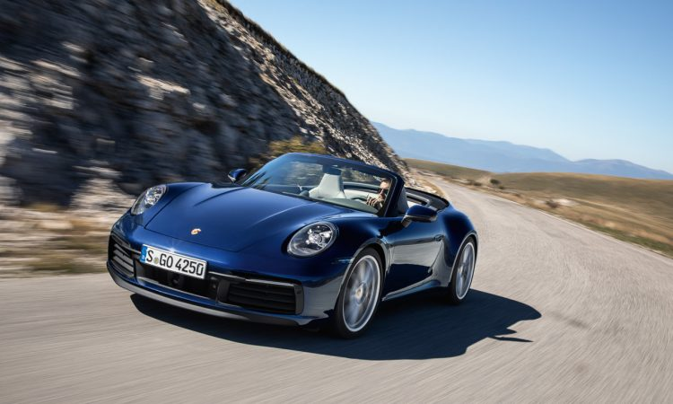 Neues Porsche 911 Cabriolet 992 AUTOmativ.de Benjamin Brodbeck 2 750x450 - Neues Porsche 911 Cabriolet (992): Elfer-Power mit Durchzug
