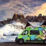 Wintercamping: Mit dem Nomad von Indie Campers könnte der neue Trend sogar Spaß machen