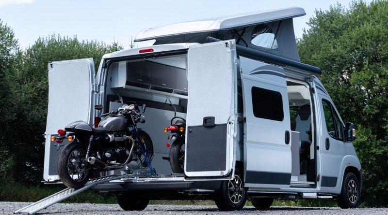 Wenn Motorrad und Camping fusionieren: Citroën Jumper Biker Solution Wohnmobil