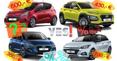 Hyundai Sondermodelle YES Kona i10 i20 i30 YES Kopie 390x205 - Hyundai YES! und YES! Plus Sondermodelle i10, i20, i30 und Kona - Lohnen sie sich?