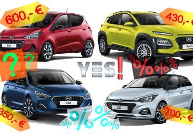 Hyundai YES! und YES! Plus Sondermodelle i10, i20, i30 und Kona – Lohnen sie sich?