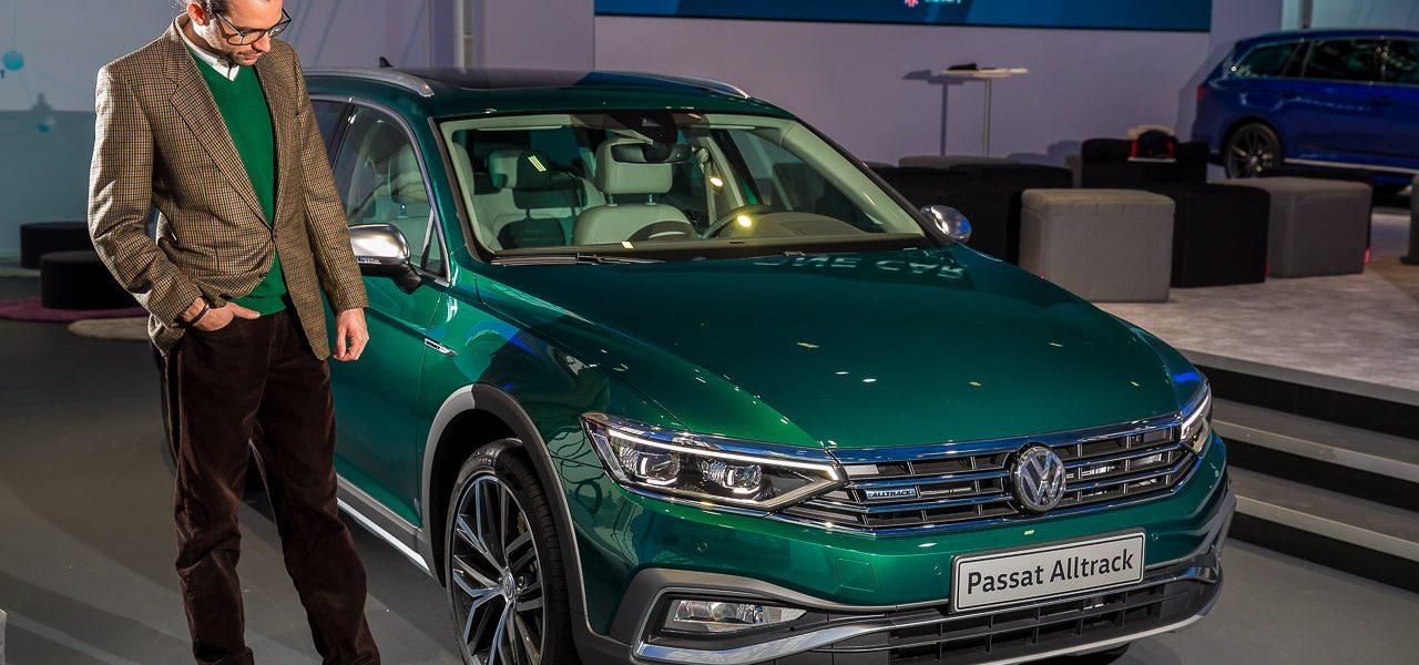 Neuer Volkswagen VW Passat B8 Facelift als Passat R Line Passat GTE und Passat Alltrack erste Sitzprobe des Mittelklasse Kombis AUTOmativ.de Benjamin Brodbeck 5 1280x600 - Neuer VW Passat R-Line, GTE, Alltrack (2019): Erste Sitzprobe in den Passat B8 Facelift Derivaten