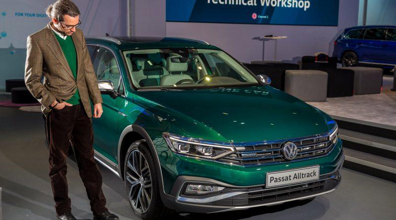 Neuer Volkswagen VW Passat B8 Facelift als Passat R Line Passat GTE und Passat Alltrack erste Sitzprobe des Mittelklasse Kombis AUTOmativ.de Benjamin Brodbeck 5 800x445 - Neuer VW Passat R-Line, GTE, Alltrack (2019): Erste Sitzprobe in den Passat B8 Facelift Derivaten