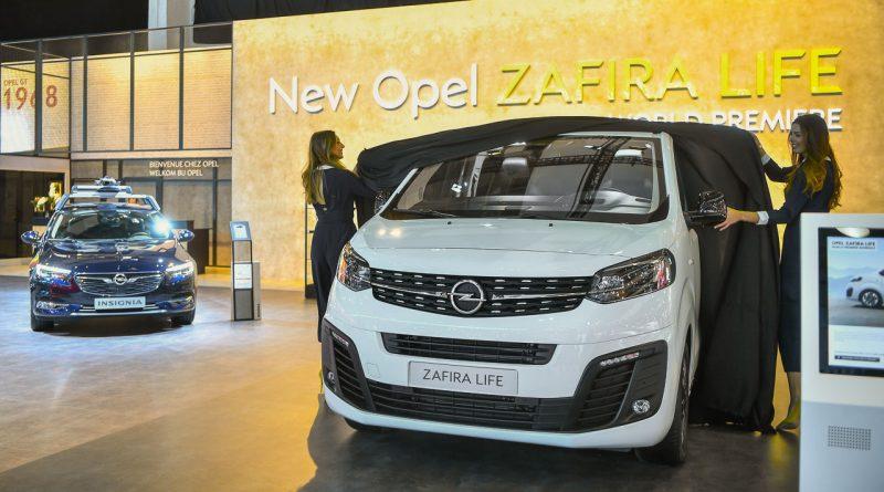 Neuer Opel Zafira Life Der Neue Vw Bus Konkurrent Automativ De