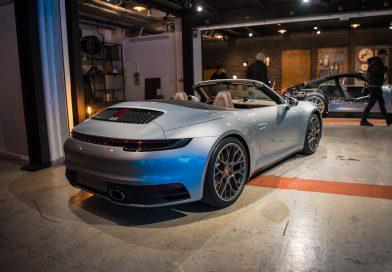 Das 911er Cabriolet der 992 Generation ist eine Augenweide!