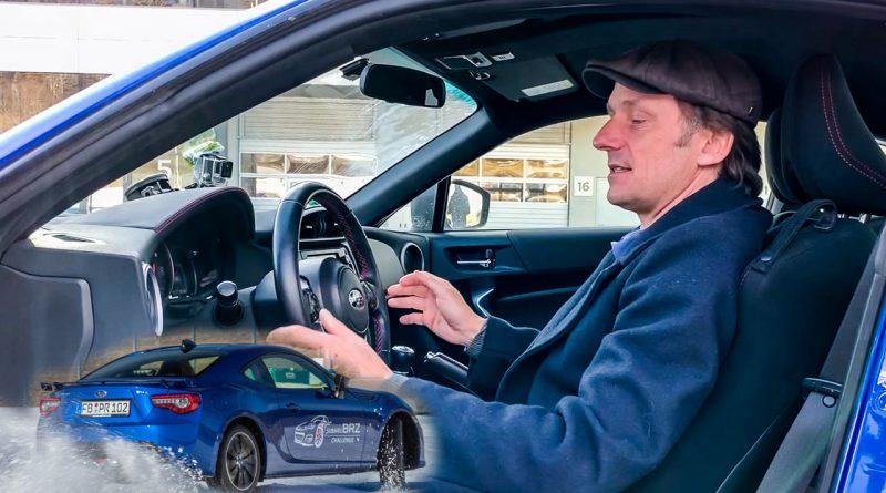 Tim Schrick Sitzposition im Auto Subaru BRZ 800x445 - Tipp: So sitzt man richtig im Auto - Tim Schrick erklärt