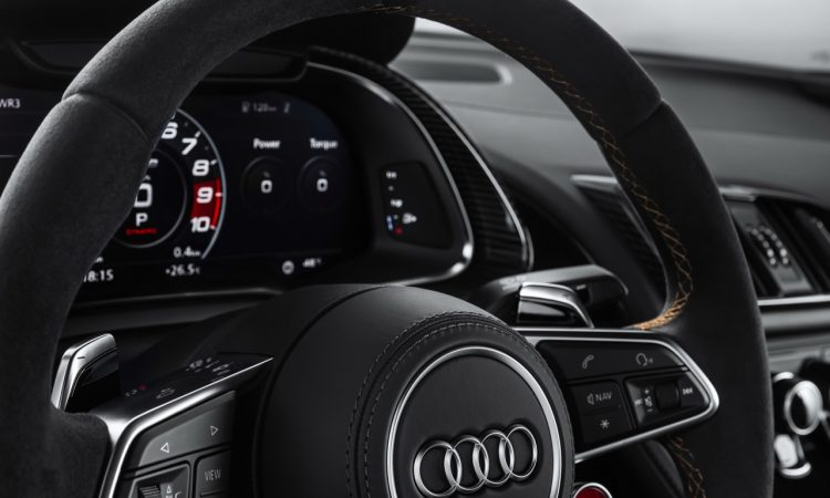 Audi R8 V10 Decennium Audi R8 ab sofort bestellbar 13 750x450 - Audi R8 V10 Decennium: Darf's zum Bestellstart etwas ganz Besonderes sein?