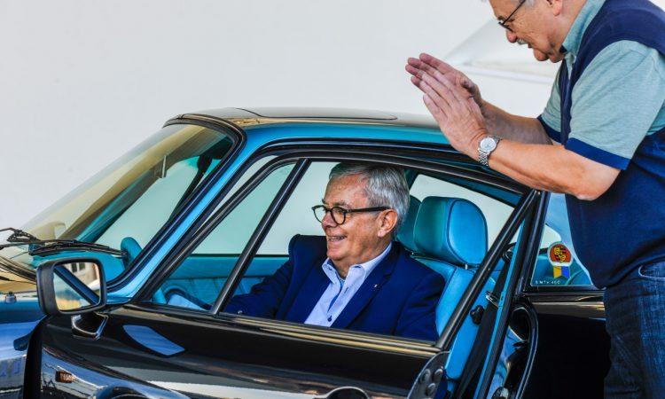 """Das Unikat Porsche 911 Exclusive Manufaktur Wiedersehen Tilman Brodbeck Porsche AUTOmativ.de  750x450 - Exklusives Einzelstück: """"Dieser Porsche 911 Carrera 3.2 war die Inspiration für Porsche Exclusive!"""""""