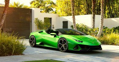 Lamborghini Huracan Evo Spyder 4 390x205 - Lamborghini Huracan Evo Spyder als offenes 640 PS starkes Biest