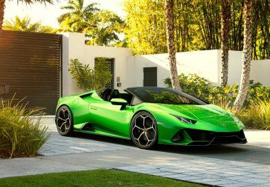 Lamborghini Huracan Evo Spyder als offenes 640 PS starkes Biest