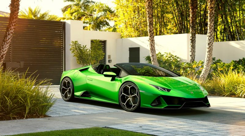 Lamborghini Huracan Evo Spyder 4 800x445 - Lamborghini Huracan Evo Spyder als offenes 640 PS starkes Biest