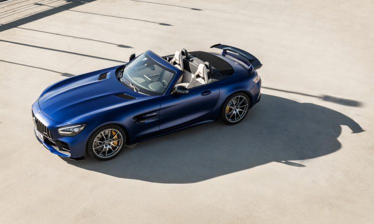 Mercedes AMG GT R Roadster 14 750x450 - Neuer offener Sternenwagen: Mercedes-AMG GT R Roadster