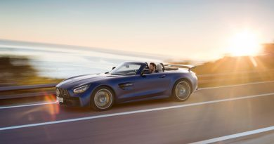 Mercedes AMG GT R Roadster 390x205 - Neuer offener Sternenwagen: Mercedes-AMG GT R Roadster