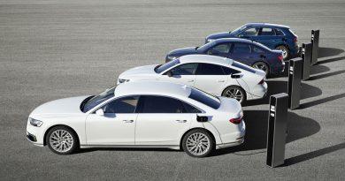 Plug in Hybrid Modelle Audi Q5 A6 A7 und A8 2 390x205 - Neu: Audi Q5, A6, A7, A8 als Plug-in-Hybrid-Modelle