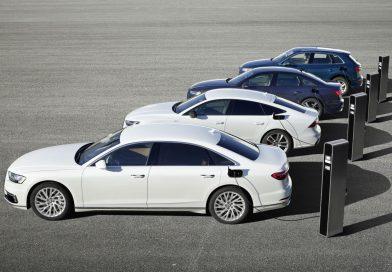 Neu: Audi Q5, A6, A7, A8 als Plug-in-Hybrid-Modelle