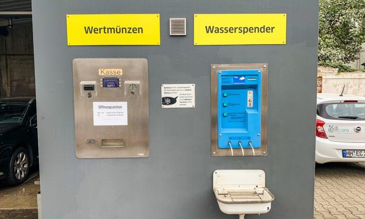 Kaercher SB Wash Waschanlage Hamburg Kärcher Clean Park Hamburg Wandsbek Test AUTOmativ.de Benjamin Brodbeck 11 750x450 - Test Kärcher Clean Park SB Wash Hamburg-Wandsbek: Klein, kurz, ungepflegt