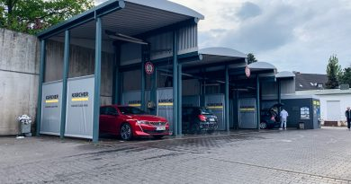 Kaercher SB Wash Waschanlage Hamburg Kärcher Clean Park Hamburg Wandsbek Test AUTOmativ.de Benjamin Brodbeck 4 390x205 - Test Kärcher Clean Park SB Wash Hamburg-Wandsbek: Klein, kurz, ungepflegt