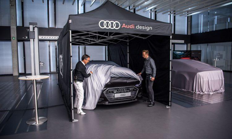 Audi A7 2018 Design Vorstellung Weltpremiere Sportcoupe Ingolstadt AUTOmativ.de Benjamin Brodbeck 11 750x450 - TOP SECRET: Hier entstehen die neuesten Audi-Modelle - Besuch im Audi Design Center