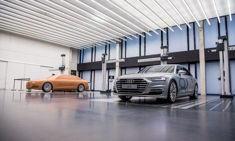 Audi A7 2018 Design Vorstellung Weltpremiere Sportcoupe Ingolstadt AUTOmativ.de Benjamin Brodbeck 3 750x450 - TOP SECRET: Hier entstehen die neuesten Audi-Modelle - Besuch im Audi Design Center