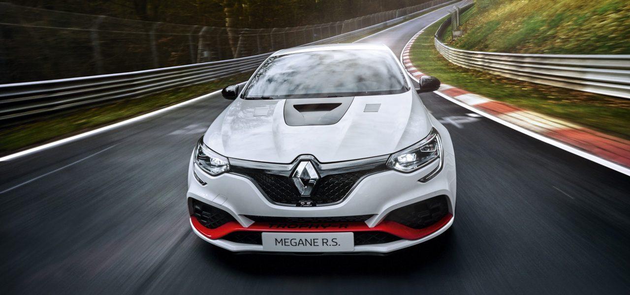 Renault Mégane R.S. TROPHY-R mit neuem Nordschleifen-Rekord!