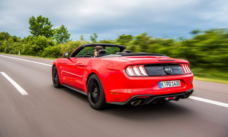 Ford Mustang GT 2019 V8 450 PS im Fahrbericht und Test AUTOmativ.de Benjamin Brodbeck 13 750x450 - Fahrbericht Ford Mustang GT Cabrio (V8): Urgewaltiges Urgestein!