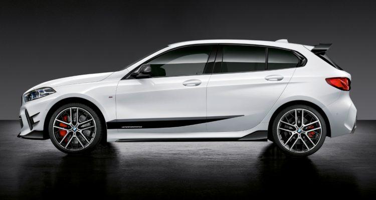 Neuer BMW 1er mit M Performance Parts 2020 LQ 3 750x399 - Der neue BMW 1er startet von Beginn an durch - mit M Performance Parts