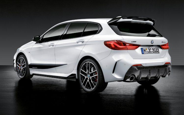 Neuer BMW 1er mit M Performance Parts 2020 LQ 6 750x468 - Der neue BMW 1er startet von Beginn an durch - mit M Performance Parts