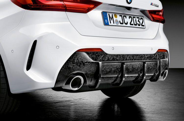 Neuer BMW 1er mit M Performance Parts 2020 LQ 8 750x494 - Der neue BMW 1er startet von Beginn an durch - mit M Performance Parts