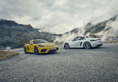 Die Neuen sind da – Porsche 718 Cayman GT4 und Porsche 718 Spyder
