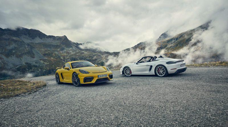 Porsche 718 Cayman GT4 und Boxster 718 Spyder 4 800x445 - Die Neuen sind da - Porsche 718 Cayman GT4 und Porsche 718 Spyder