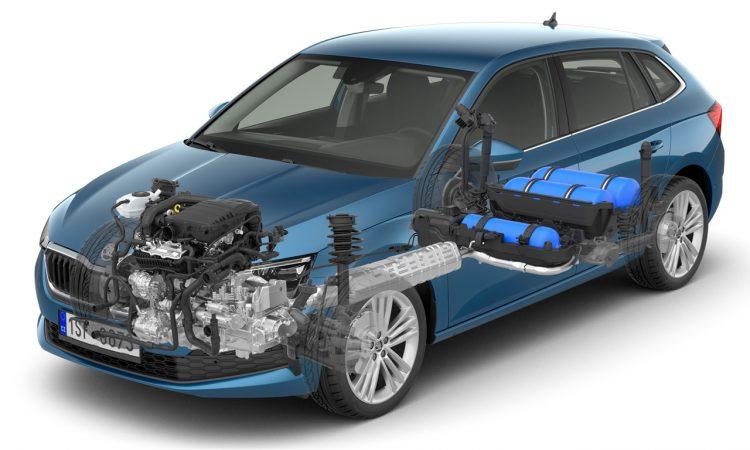 Skoda Scala G Tec 750x450 - Neuer Škoda Scala G-TEC: Erdgas (CNG) für den tschechischen Golf